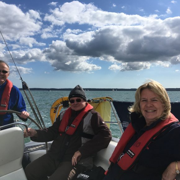 Sailing Day for members is a blast!